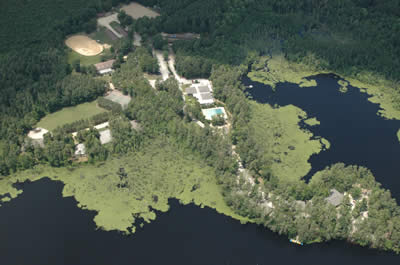 aerial photo of 4h center